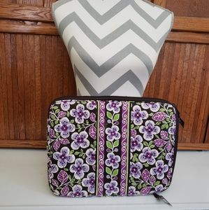Vera Bradley Purple Floral Pattern Laptop bag